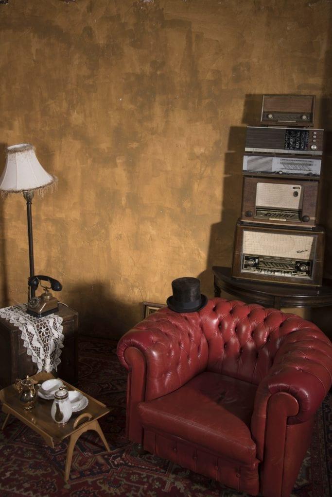 vintage achtergrond decor
